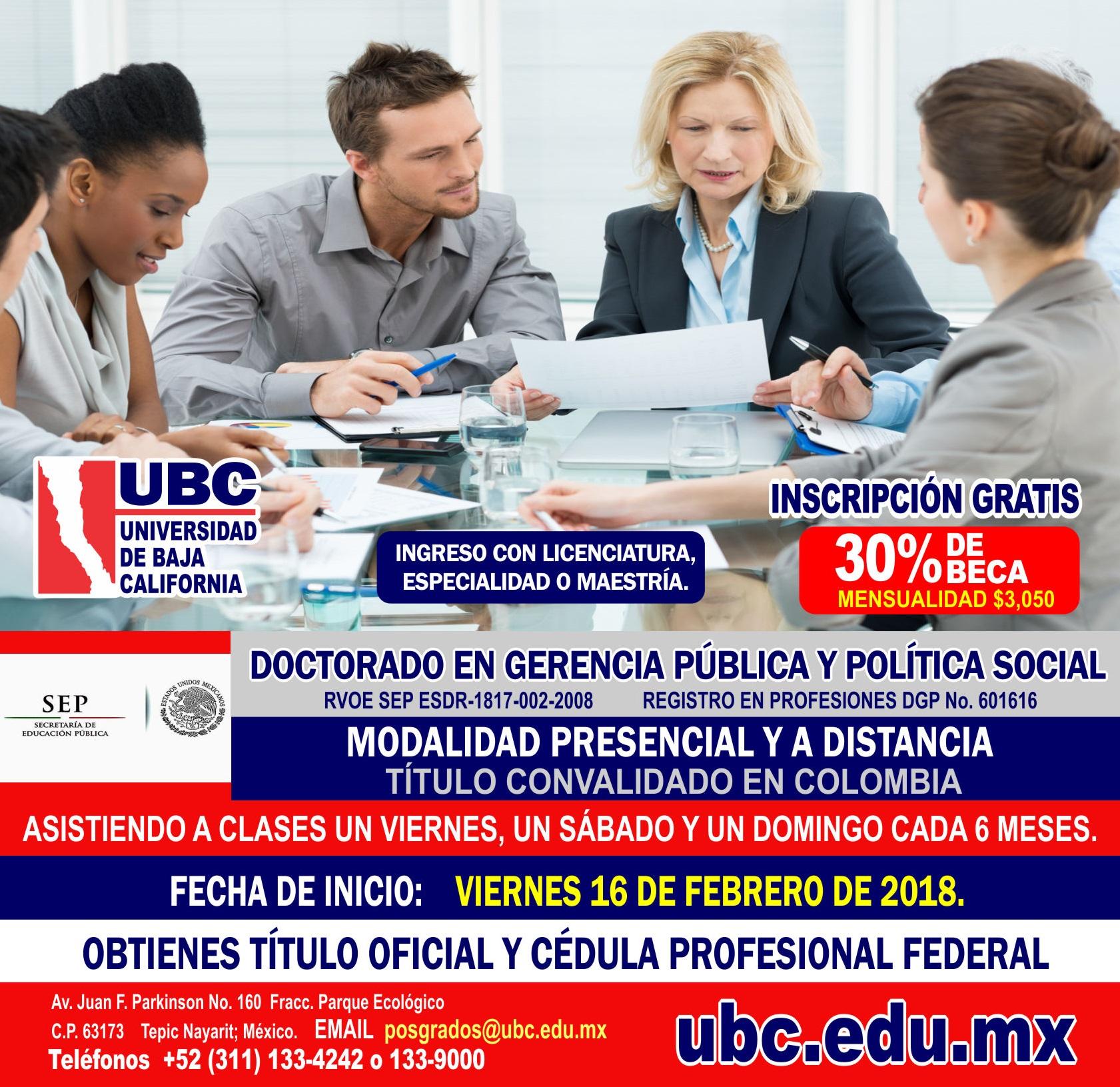 Doctorado en Política Social