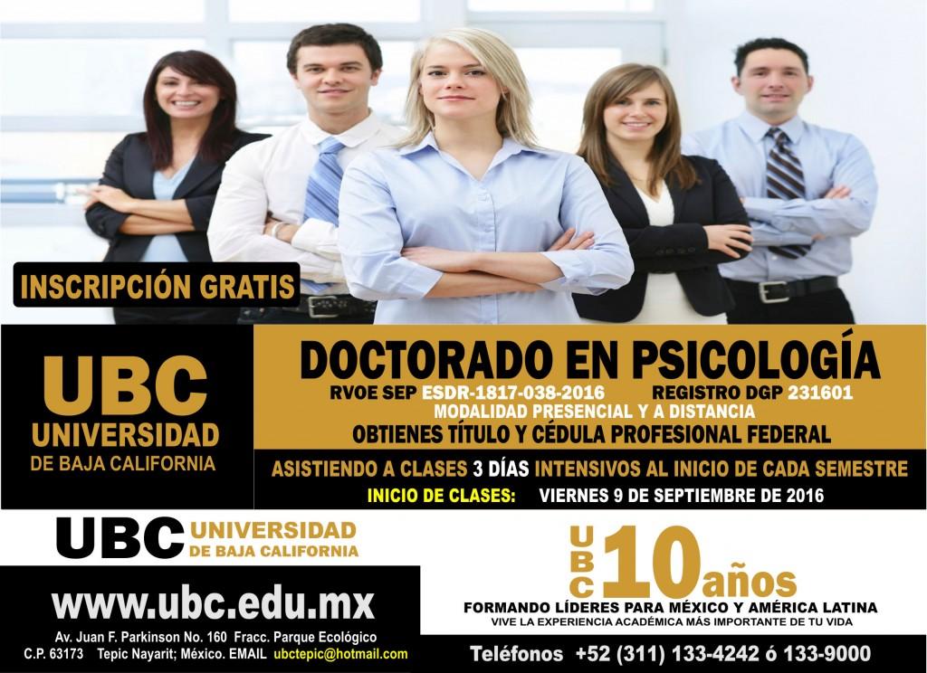 Doctorado en Psicología