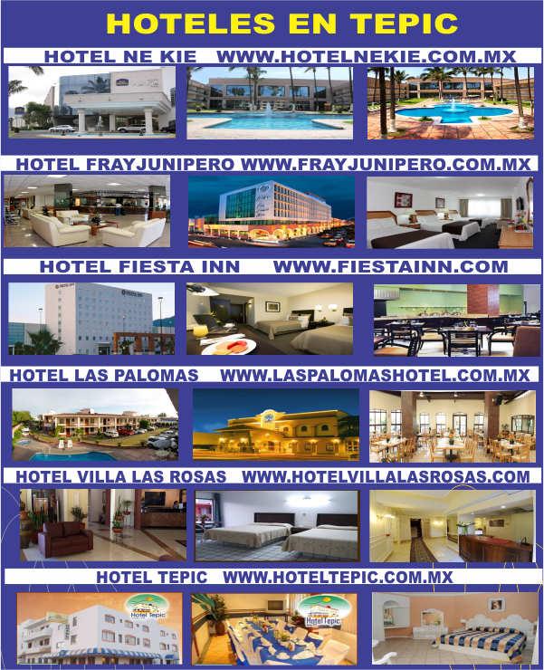 HOTELES en TEPIC