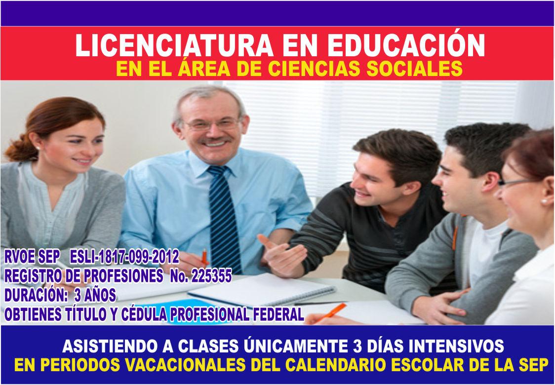 LIC. en Ciencias Sociales
