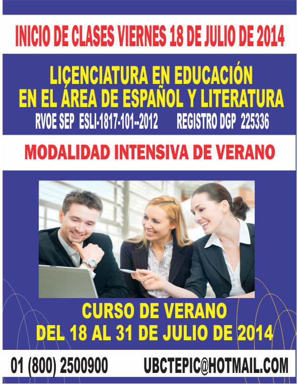Licenciatura en educaci n en el rea de espa ol y for Accion educativa espanola en el exterior